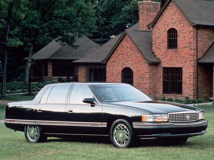 1996 Cadillac DeVille Concours Sedan