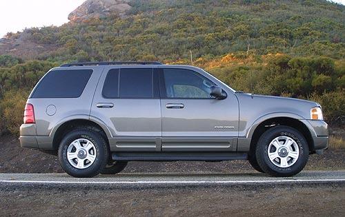 2003 Ford Explorer SUV FFV 4WD