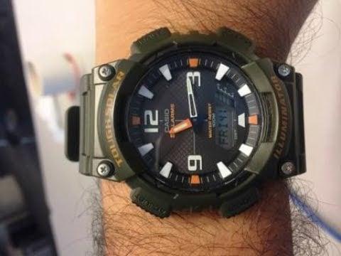 Casio AQS810W-1AVCF Solar Sport Watch