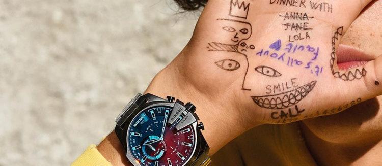 Diesel Men's Crusher watch