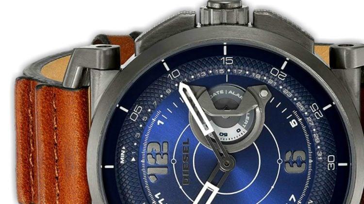 Diesel On Men's Armbar Silicone Hybrid Smartwatch