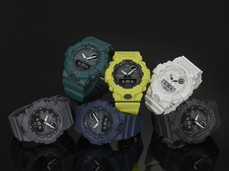 G-Shock GBA800 Training Timer