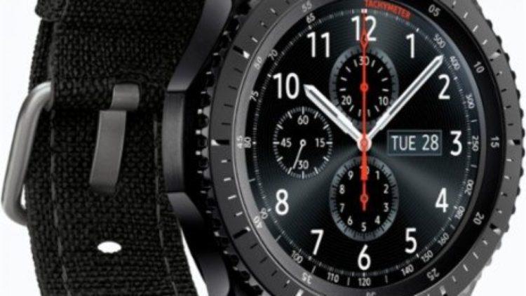 Gear S3 frontier TUMI Special Edition