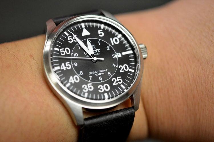 Orient Flight Stainless Steel Watch