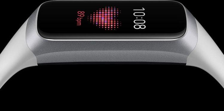Samsung Galaxy Fit Silver (Bluetooth), SM-R370NZSAXAR – US Version with Warranty