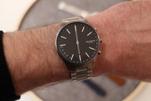 Skagen Connected Men's Holst Titanium Hybrid Smartwatch