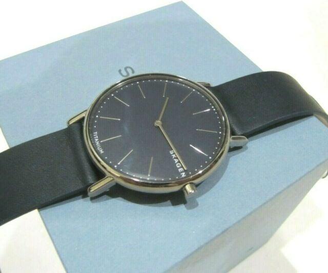 Skagen Signature Blue Silicone Field Watch