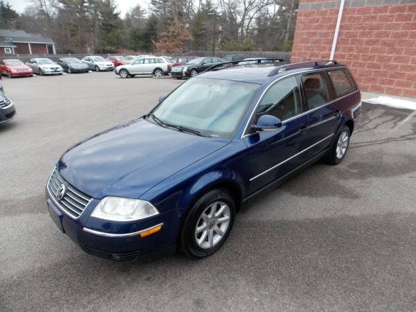 The 2004 Passat 4Motion Station Wagon GLS