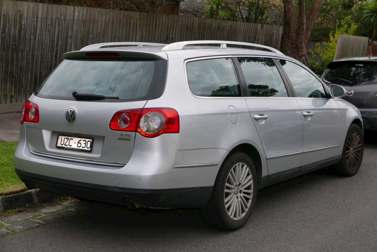The 2007 Passat Station Wagon