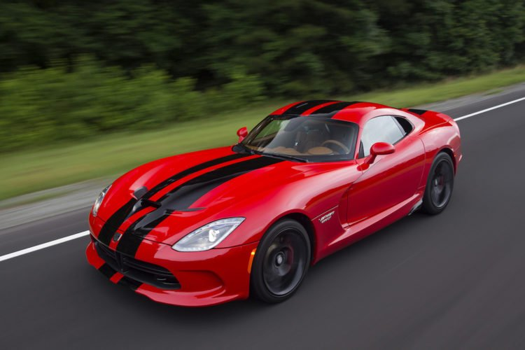 The 2017 Dodge Viper SRT