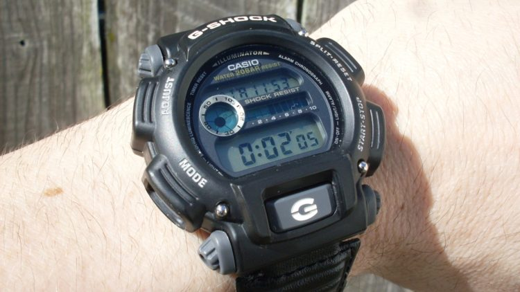The Casio DW9052-1BCG Men's G-Shock