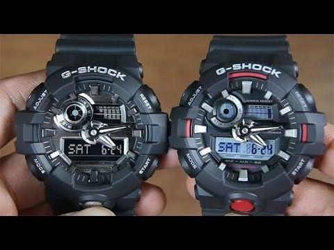 The Casio G-Shock GA710G-1A4