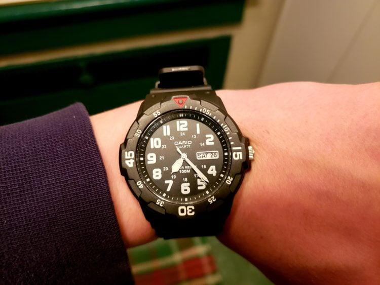 The Casio MRW200H-1BV Analog Dive Watch