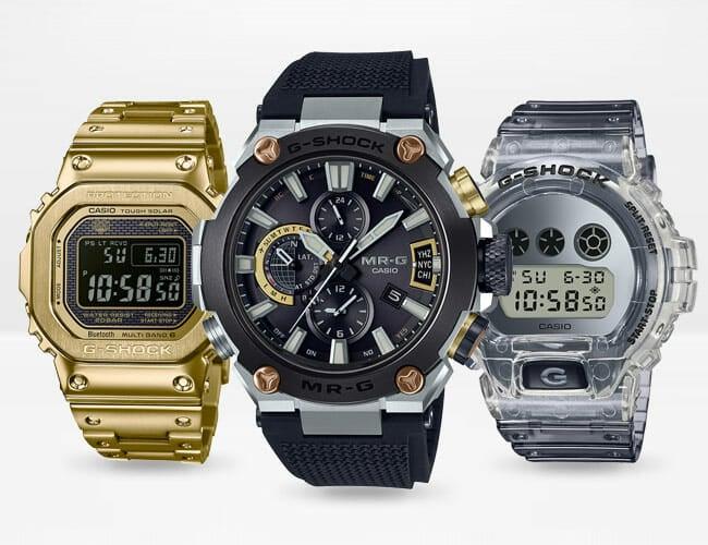 The Casio Master Of G Digital Quartz Solar Watch