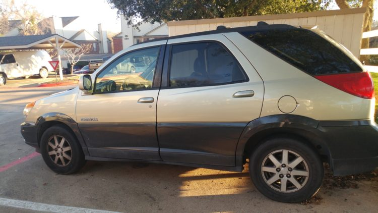 2002 Buick Rendezvous CX
