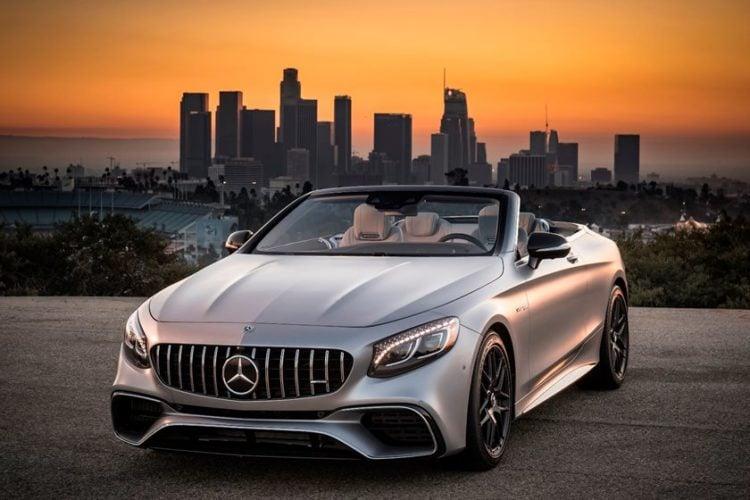 2020 Mercedes Benz AMG S 63 Convertible