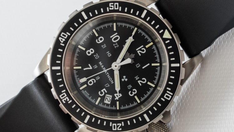 Marathon watch Search and Rescue Diver's Automatic