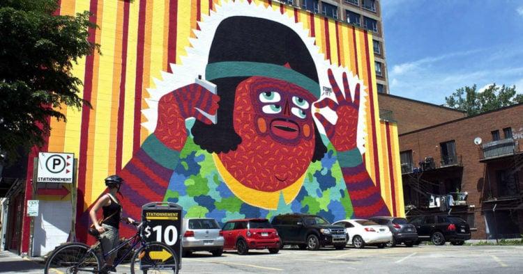 Saint-Laurent Street Art