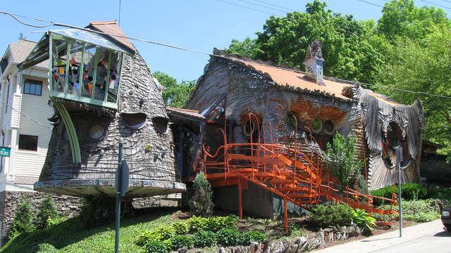 The Cincinnati Mushroom House, Cincinnati, Ohio