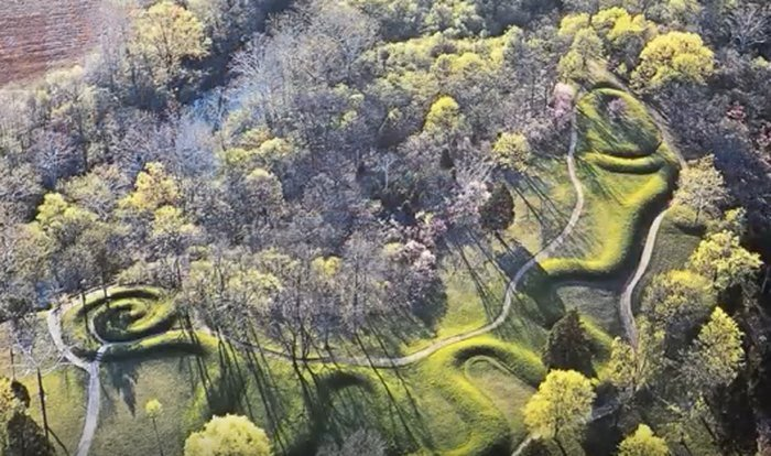 The Great Serpent Mound,