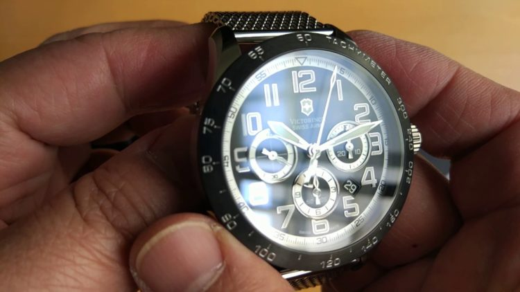 Victorinox AirBoss Mach 6 Chrono Automatic Men's Watch 241447.1