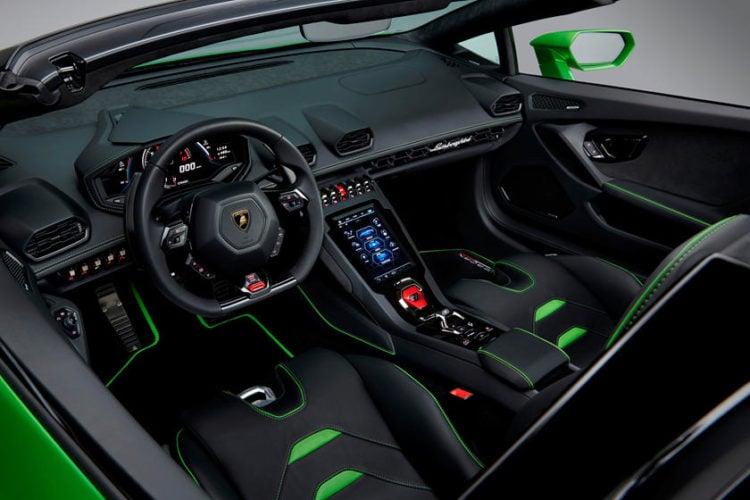 2020 Lamborghini Huracan The Interior