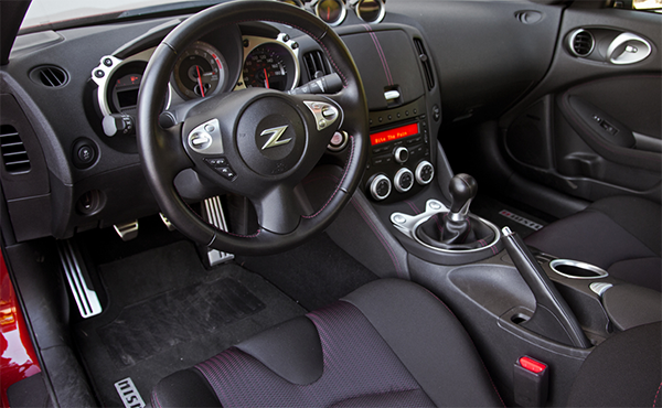 2021 Nissan Z interior