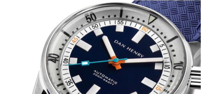 Dan Henry 1970 Diver White