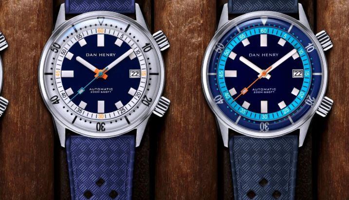 Dan Henry Automatic Diver Blue