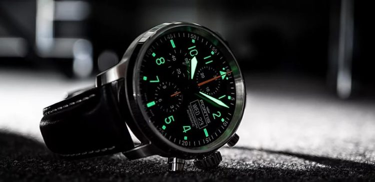 Flieger Cockpit one 1 Aviatis watch day date Automatic 704.21.18 L.01