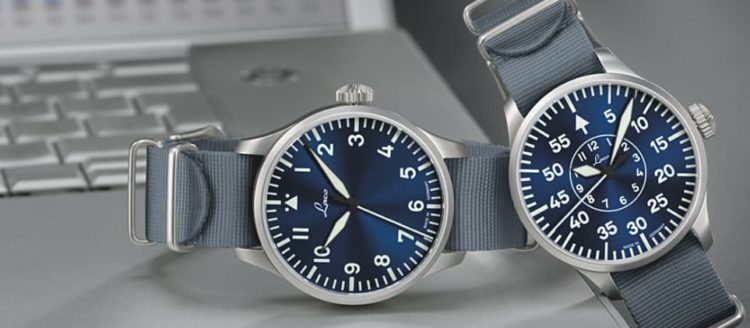 Laco Aachen Blaue Stunde Automatic Pilot Watch