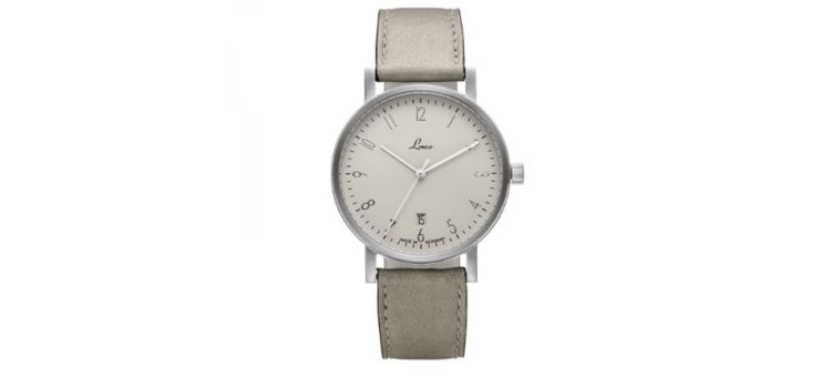 Laco Classic Silber 40 Automatic Dress Watch