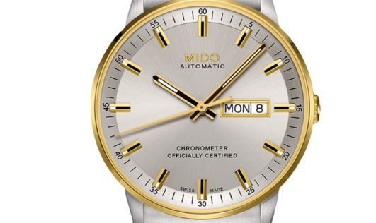 Mido Commander Automatic Yellow Gold