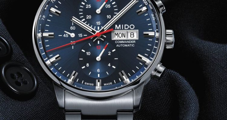 Mido Commander II Chronograph Automatic