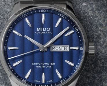 Mido Multifort Automatic Anthracite Dial
