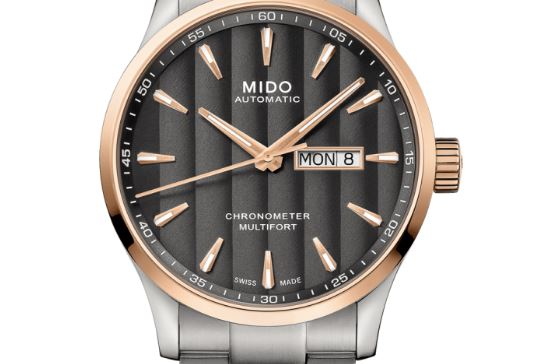 Mido Multifort Automatic Silver Dial Watch