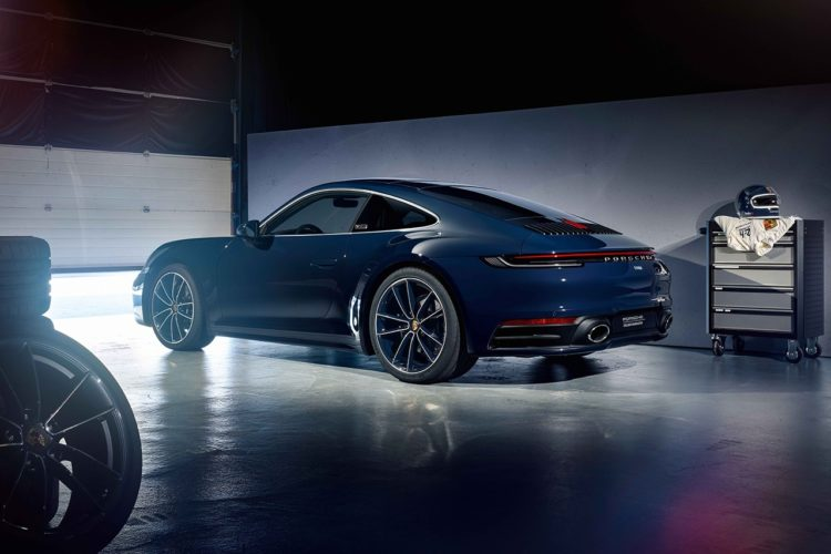 Porsche Exclusive 911 Carerra 4S Belgian Legend Edition back