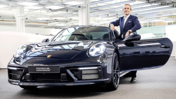 Porsche Exclusive 911 Carerra 4S Belgian Legend Edition exterior