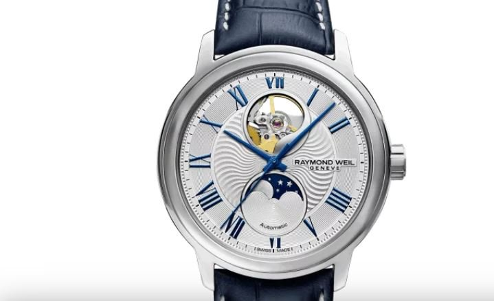 Raymond Weil Maestro Moonphase Automatic with Silver Dial
