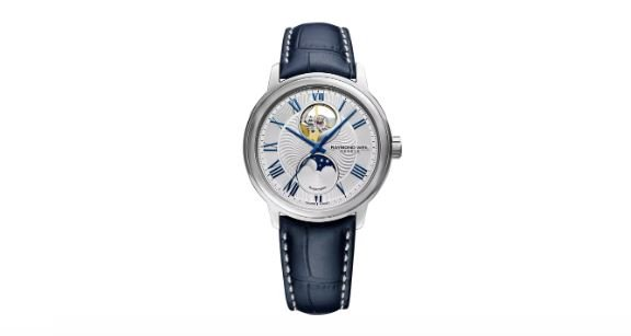 Raymond Weil Moon Phase Automatic Date Watch