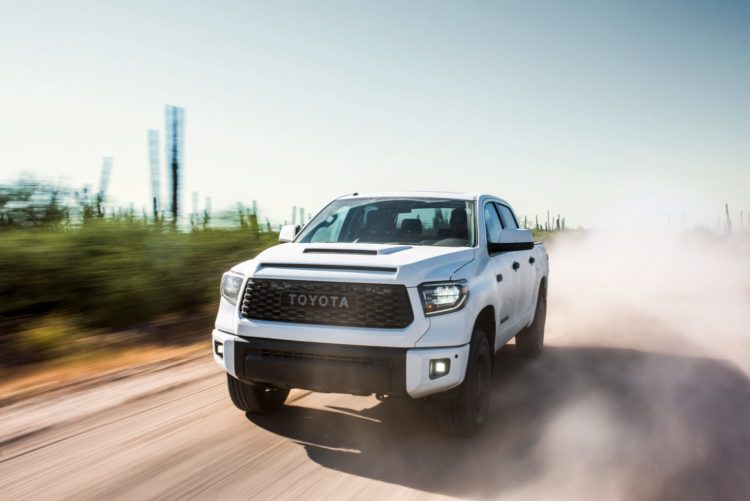 Toyota Tundra…Texas and Indiana