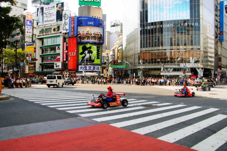 Mario Kart Race Japan