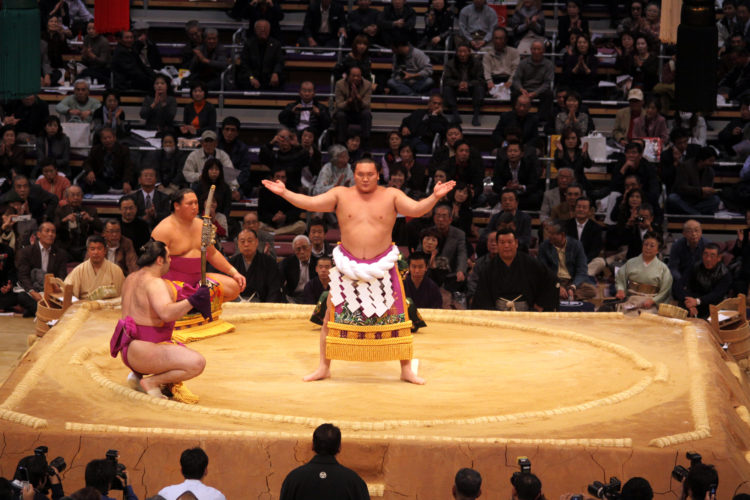 Sumo Wrestler Japan