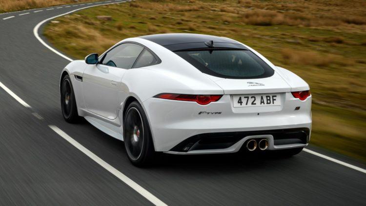 2020 Jaguar F-Type R back