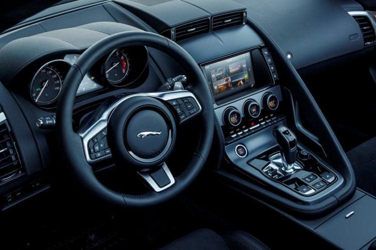 2020 Jaguar F-Type R interior