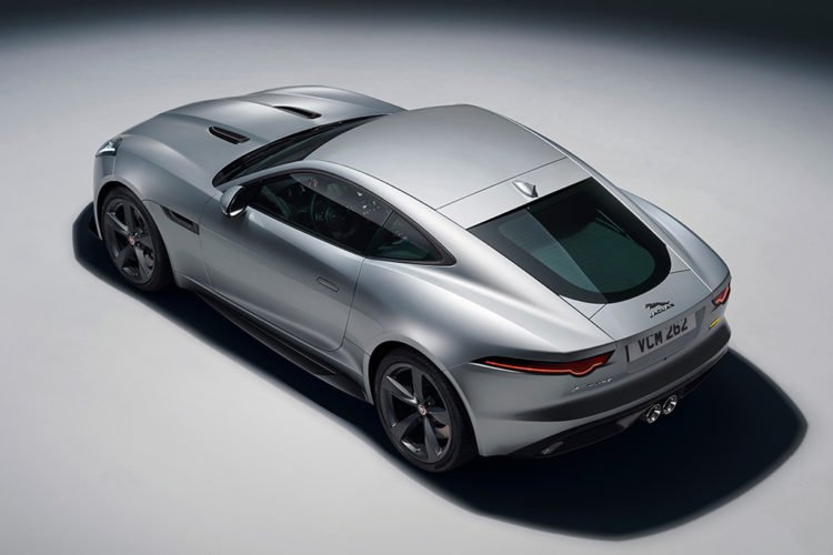 2020 Jaguar F-Type R side