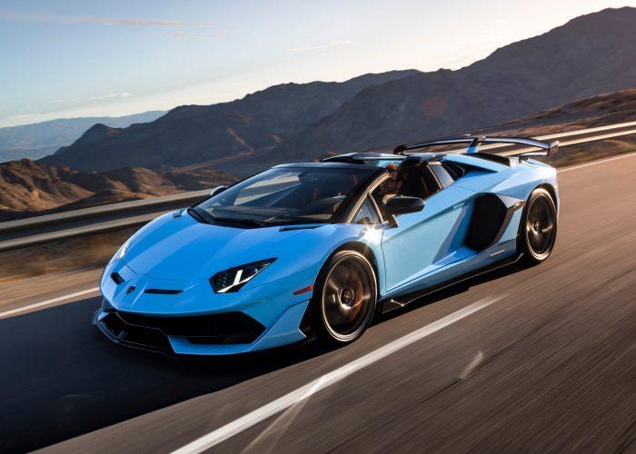 2020 Lamborghini Aventador exterior