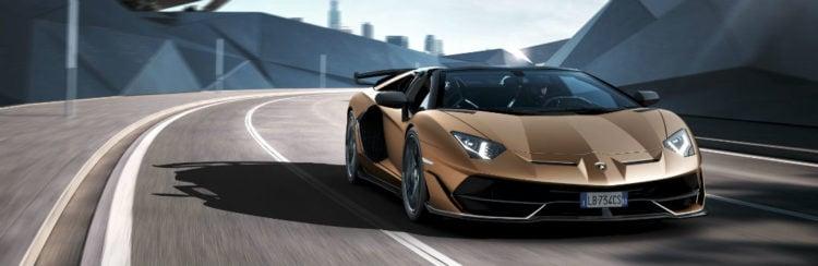 2020 Lamborghini Aventador front