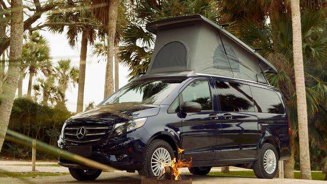 2020 Mercedes Benz Weekender Camper Van 1