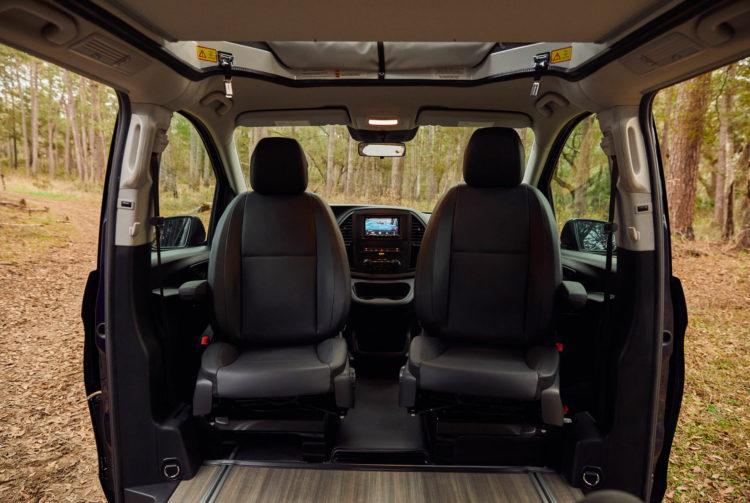 2020 Mercedes Benz Weekender Camper Van interior